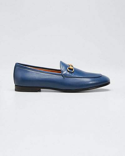 Flat Jordaan Leather Loafers