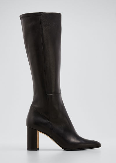 Pampita Leather Knee Boot