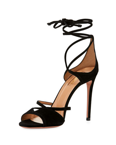 Aquazzura Nathalie Sandals Cheap Sale Pre Order Clearance 100% Authentic Discount Fake Cheap Price Cost on37p6HB2