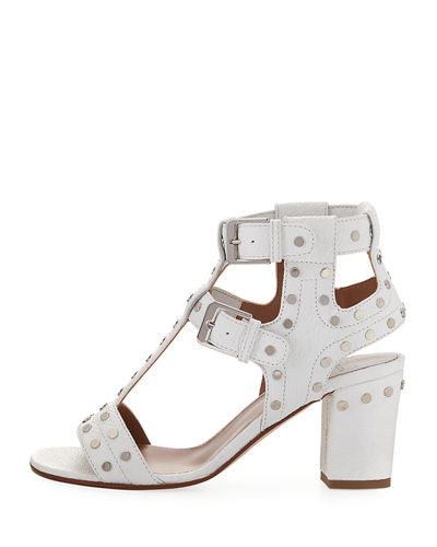 Helie Studded Leather Sandal