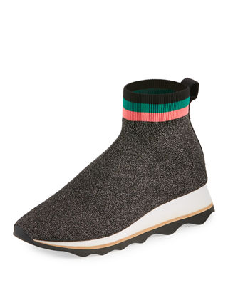 WOMEN'S SCOUT KNIT HIGH TOP SNEAKERS
