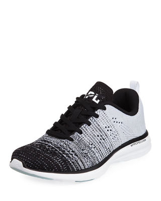 APL ATHLETIC PROPULSION LABS Techloom Pro Dégradé Knitted Trainers in Black