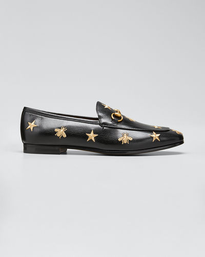 Jordaan Star & Bee Leather Loafer