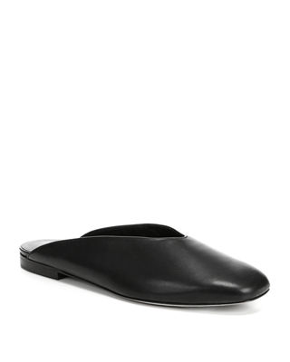 Women'S Levins Leather Mules, Black from Gilt