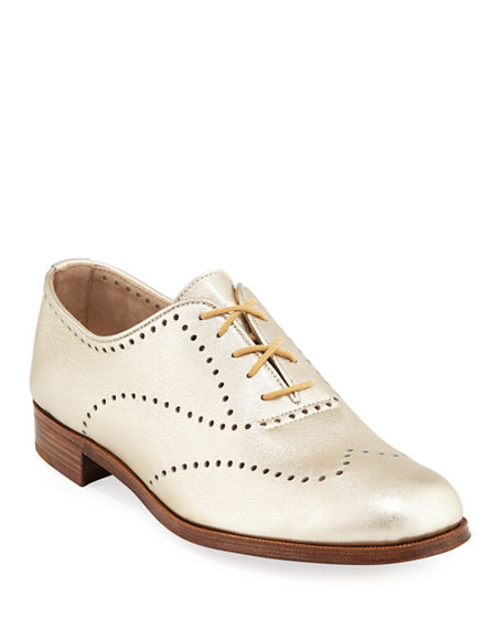Gravati PERFORATED LACE-UP OXFORD