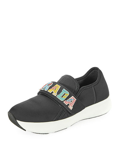Prada logo sneakers factory outlet cheap online outlet where can you find DQgW1H