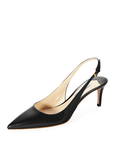 Prada Velvet Slingback Pumps cheap low shipping fee in China sale online bO26iCBR7
