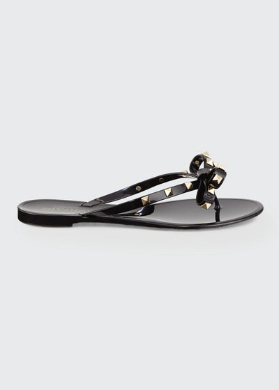 Garavani Rockstud jelly sandals Valentino Clearance For Cheap For Cheap For Sale yvBcc