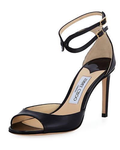 Jimmy choo Women's Lane Ankle Strap Sandal h2sOBlTO7