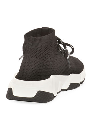 Speed lace-up sneakers - Black Balenciaga