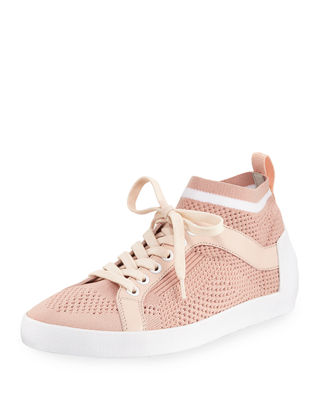 lace-up sneakers - Pink & Purple Ash