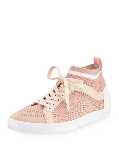 Nolita Knit Mesh Lace-Up Sneakers