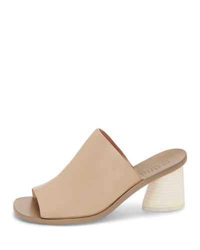 Beckey Block-Heel Slide Sandal
