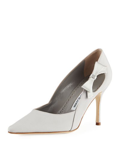Tracee Satin Bow Pump