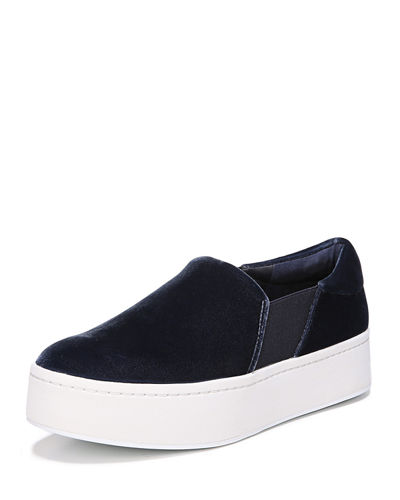 Vince Velvet Slip-On Sneakers official site cheap online clearance exclusive where can you find SRI6yv7TO1