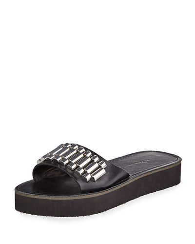 Eva Watch Strap Slide Sandal