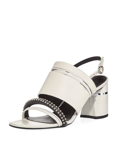 Drum Studded Multi-Strap Sandal
