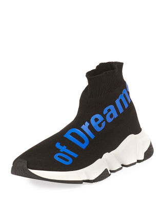 THE POWER OF DREAMS STRETCH-KNIT HIGH-TOP TRAINER