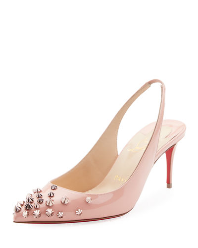 Drama Slingback 70mm Red Sole Pumps
