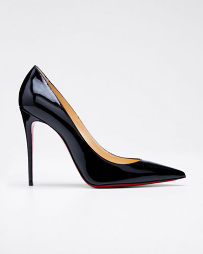 Christian Louboutin Decollette Pointed-Toe Red Sole Pump