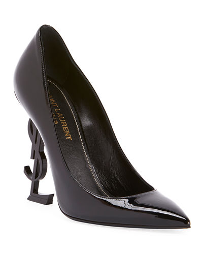 Patent 110mm YSL-Heel Pumps