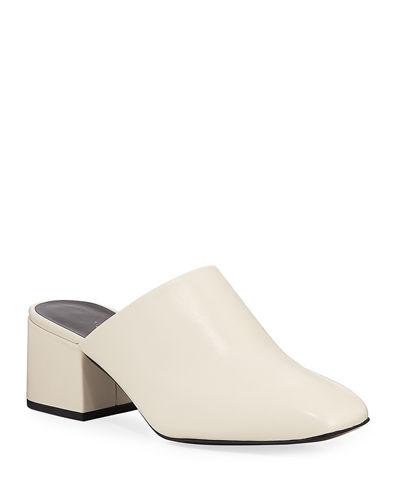 Exclusive Square-Toe Mule
