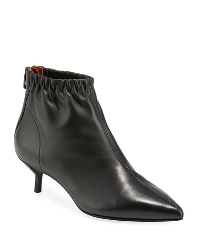 Blitz Leather Pointed Bootie