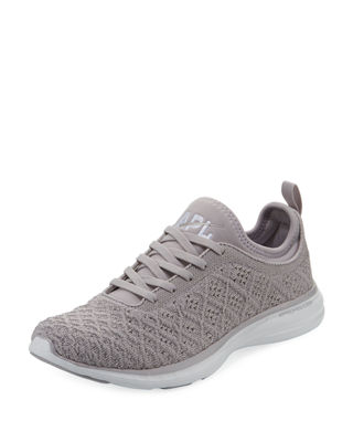 Women'S Phantom Techloom Knit Lace Up Sneakers, Gray
