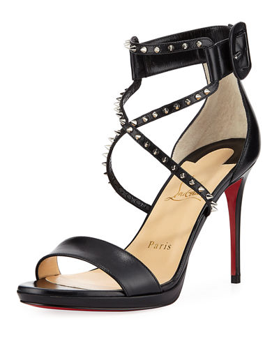 newest ec9be 8697f Choca Lux Red Sole Sandal