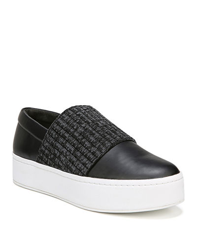 Weadon Leather Platform Sneaker