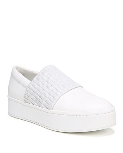 Weadon Leather Platform Sneakers