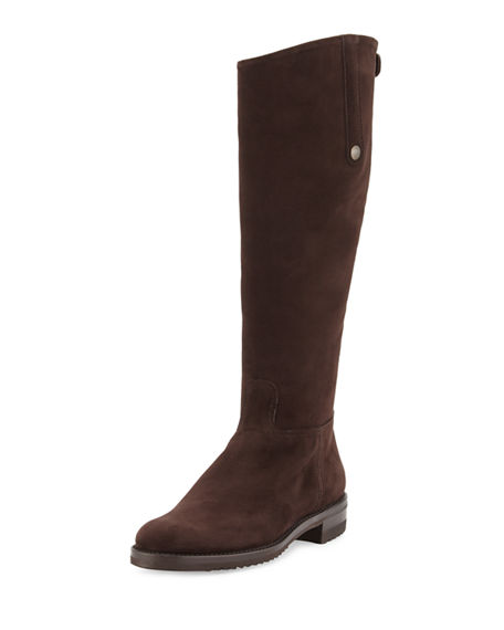 Gravati TALL SUEDE RIDING BOOT