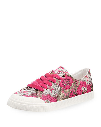 Marley Floral Lace-Up Sneaker