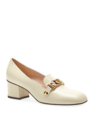 LEATHER 55MM LOAFERS