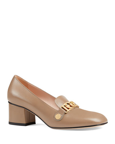 Sylvie Leather 55mm Loafer
