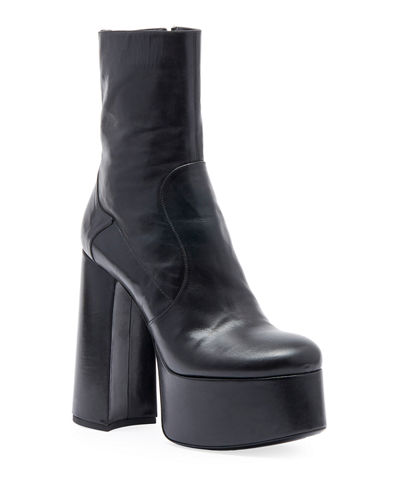 Billy Kangaroo Leather Platform Boot
