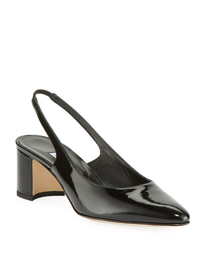 Allurasa Slingback Leather Pumps