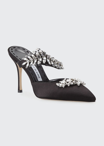 Lurum Crystal-Embellished Mule Pump