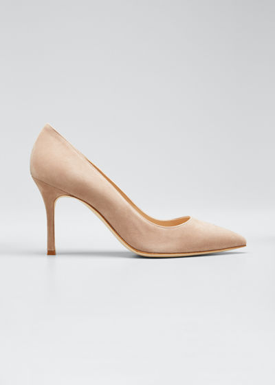 45f8a5d4445e BB Suede Pointed Pump Quick Look. Manolo Blahnik