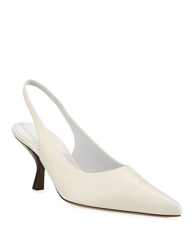 Patent Bourgeoisie Slingback Pump