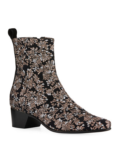 Reno Brocade Ankle Boot
