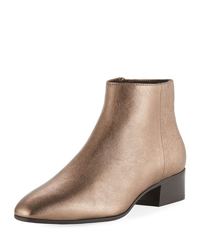 Fuoco Weatherproof Leather Ankle Boots