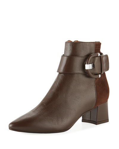 6ab98fe3a9bd Aquatalia Phiona Mixed Ankle Booties