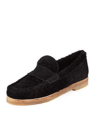 Women'S Bromley Shearling Loafers, Black