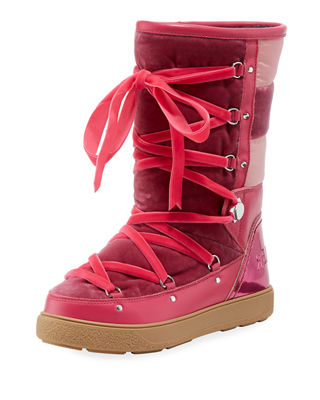 Stivale Velvet Moon Boots in Pink