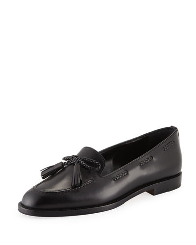 Leather Loafers with Tassels