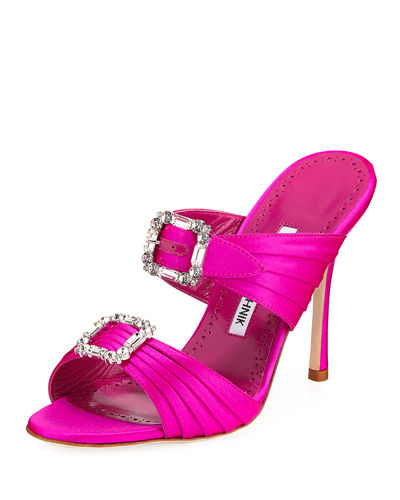 Pow Two-Band Embellished Sandals