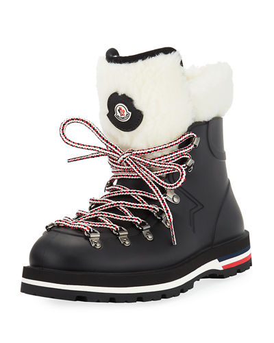 ec3bc1c44 Moncler Inaya Scarpa Lace-Up Hiking Boots