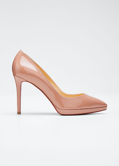 8dbbdd2ae3f Pigalle Plato Patent Red Sole Pumps