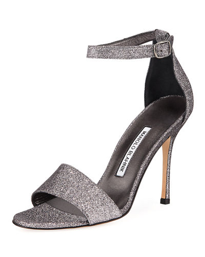 Tres Glittered d'Orsay Sandals